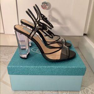 Betsey Johnson Elena Clear Heels